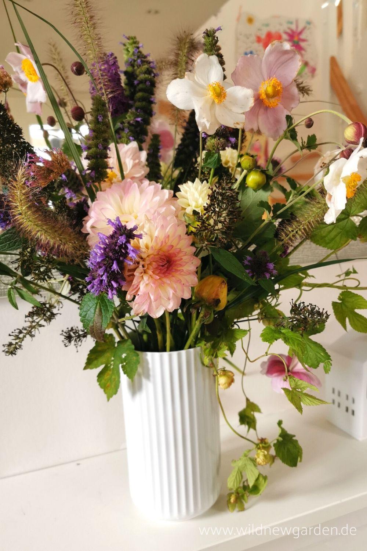 Blumen im Oktober